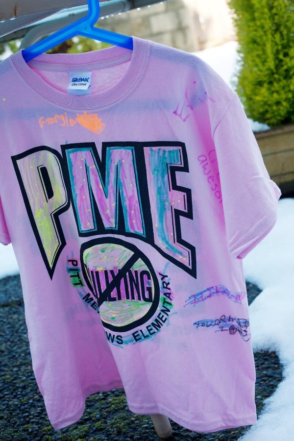 Pink Shirt Day 1
